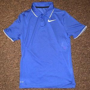 Boy Nike polo golf dry-fit
